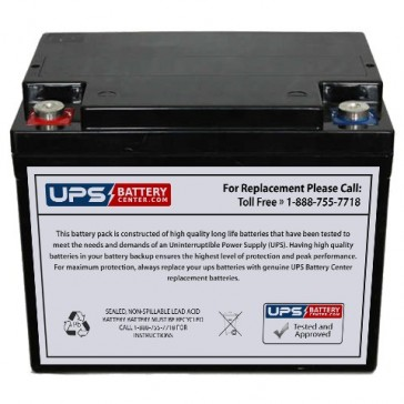 IBT BT38-12 12V 38Ah Battery