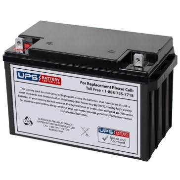 MCA NP65-12BP 12V 65Ah Battery