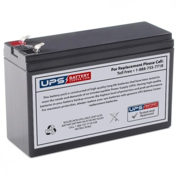 Motoma MS12V7 12V 7Ah F1 Battery