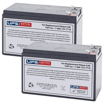 Ferno-ille 3000 Shower Trolley Batteries - Set of 2