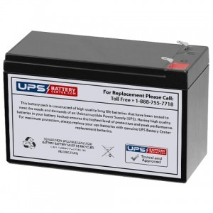 Plus Power PP12-7.5 F1 12V 7.5Ah Battery