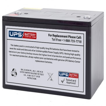 Weiboer GB12-80 12V 80Ah Battery