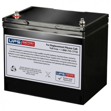 MCA NP80-12BQ 12V 80Ah Battery