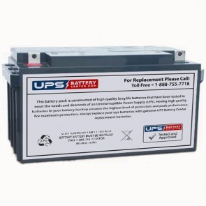 SeaWill LSW1275S 12V 75Ah Battery