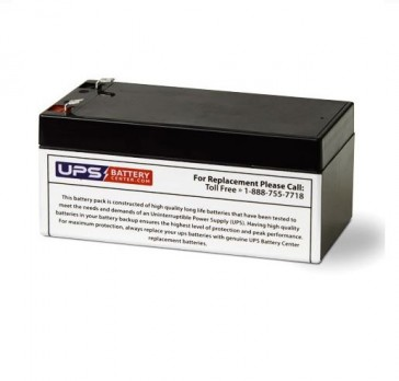 12V 3.4Ah Rechargeable Ride-on Toy Battery