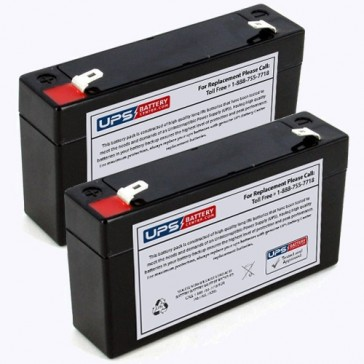Impact Instrumentation 320GR Portable Aspirator Batteries - Set of 2