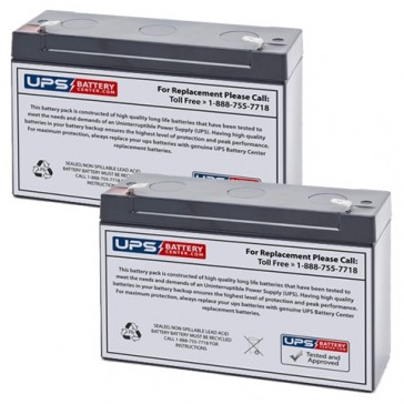 Emergi-Lite/Kaufel 6M4-CS Batteries