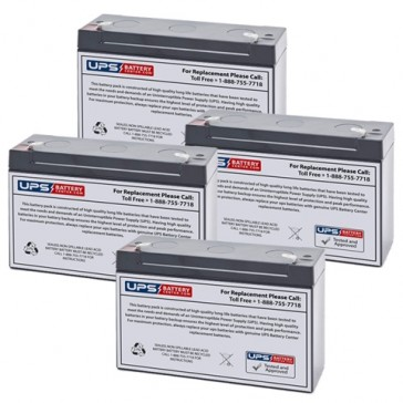 Emergi-Lite/Kaufel 24M6-G Batteries