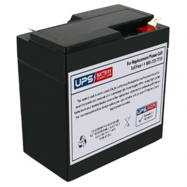 National NB6-6.5 6V 6.5Ah Battery
