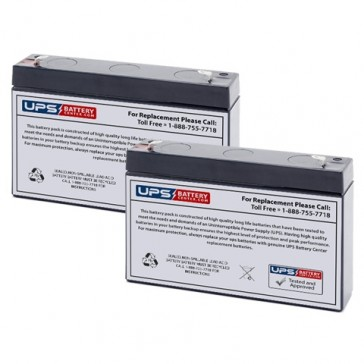 Emergi-Lite/Kaufel 12M9 Batteries