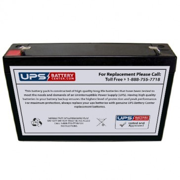New Power NS6-8 6V 8Ah Battery