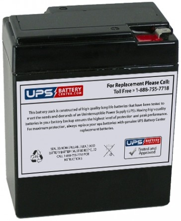 JASCO RB682 6V 9Ah Battery