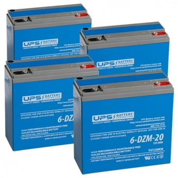 goGreen ET-4 RW 48V 20Ah Battery Set