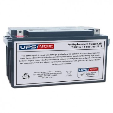 Energy Power 12V 65Ah EP-SLA12-65L Battery with NB Terminals