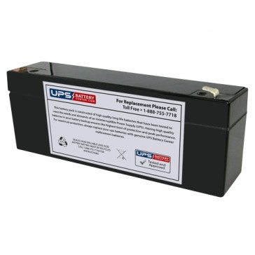 IBT 12V 2.9Ah BT2.9-12 Battery with F1 Terminals
