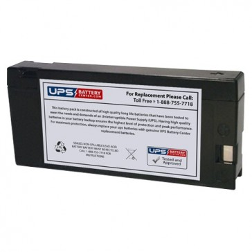 Leoch 12V 2Ah DJW12-2.0C1 Battery with PC Terminals