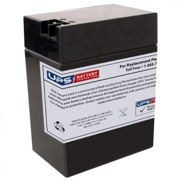 CE1-5AR - Lightalarms 6V 13Ah Replacement Battery