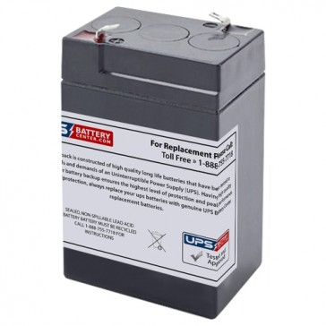 MaxPower NP6-6 Battery