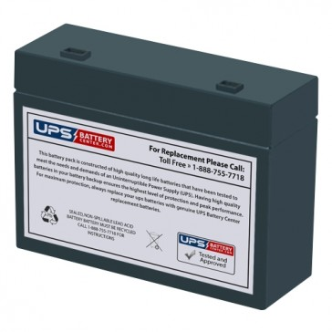 MaxPower NP4.5-12S Battery