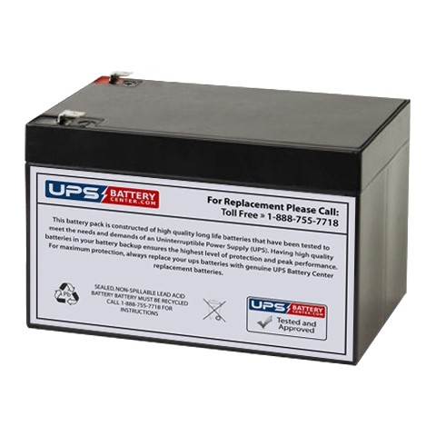 Q Power Qp12 12 12v 12ah Battery