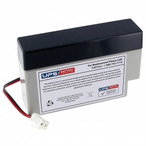 12V 0.8Ah Home Alarm Battery with J2/JST Terminals