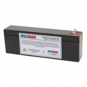 Multipower MP2.4-12C 12V 2.6Ah Battery