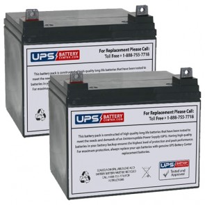 Jostra HL20 Perfusion System - Roller Pump Batteries