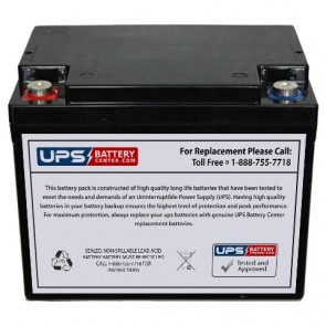 Unicell TLA12600 12V 60Ah Battery
