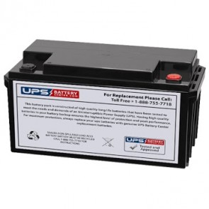 VCELL 12VCL70 M6 Insert Terminals 12V 70Ah Battery