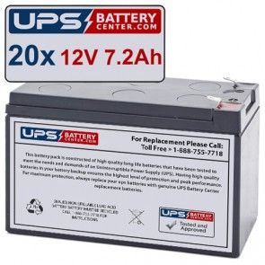 Ablerex MSII4500 Batteries