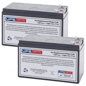 Astro-Med Recorder Dash I, II, Mark II Medical Batteries - Set of 2