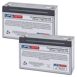 Emergi-Lite/Kaufel 002007 Batteries