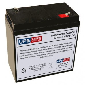 National Power GS100S1 6V 36Ah Battery
