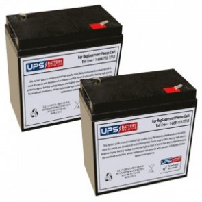 Emergi-Lite/Kaufel 002227 Batteries