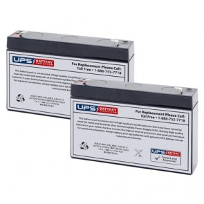 Emergi-Lite/Kaufel 002204 Batteries