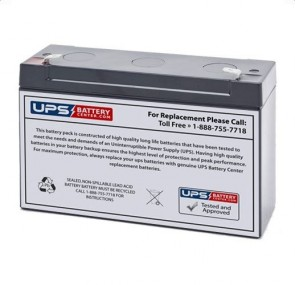 Ohio 2 Modulus Plus 6V 12Ah Battery