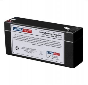 Park Medical Electronics Lab 1026 Doppler 6V 3Ah Battery