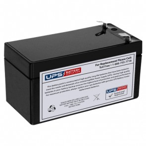 Casil 12V 1.2Ah CA1212 Battery with F1 Terminals