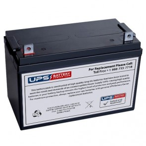 CooPower 12V 100Ah CPD12-100 Battery with NB Terminals