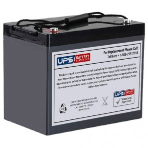 CooPower 12V 90Ah CPD12-90 Battery with M6 Insert Terminals