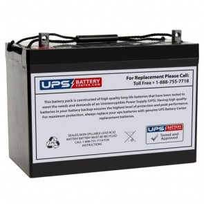 CooPower 12V 90Ah CPD12-90 Battery with NB Terminals