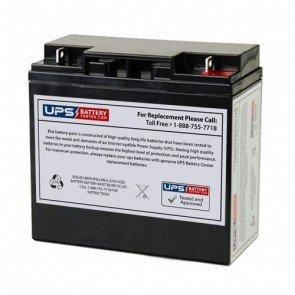 Energy Power 12V 20Ah EP-SLA12-20B1 Battery with F3 Terminals
