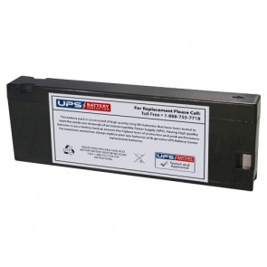 Gaston 12V 2.3Ah GT12-2.3CR Battery with PC Terminals