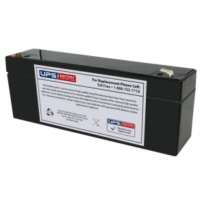 Gaston 12V 2.9Ah GT12-2.9 Battery with F1 Terminals