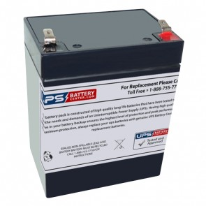 Gaston GT12-2.9P 12V 2.9Ah Battery with F1 Terminals