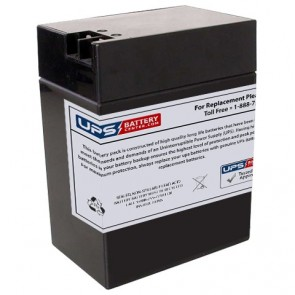 LongWay 6V 14Ah 3FM14 Battery with F2+F1- Terminals