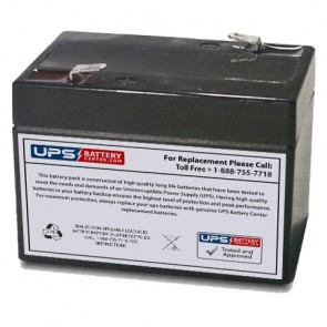 Multipower MP2-6 6V 2Ah Battery