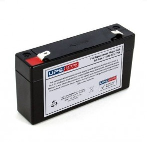 RED DOT 6V 1.2Ah DD 06012 Battery with F1 Terminals