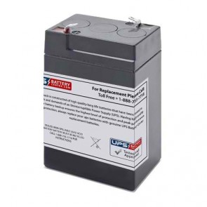 Sentry Lite 6V 4.5Ah 9985 Battery with F1 Terminals