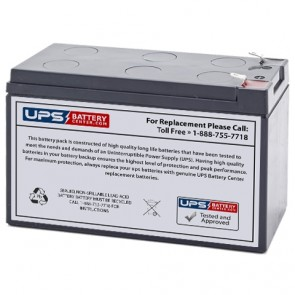 Solo Light 12V 7Ah Battery with F1 Terminals